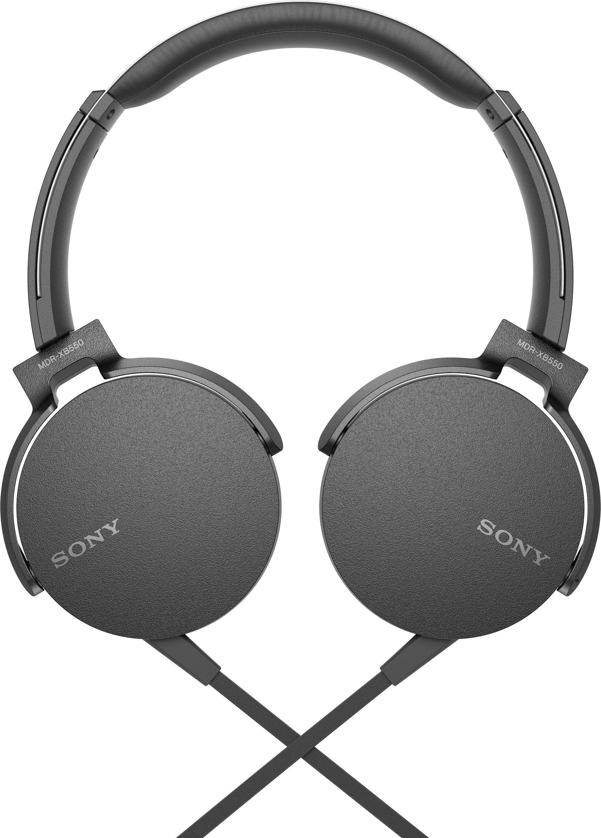 SONY ON EAR HEADPHONES 30MM DRIVERS