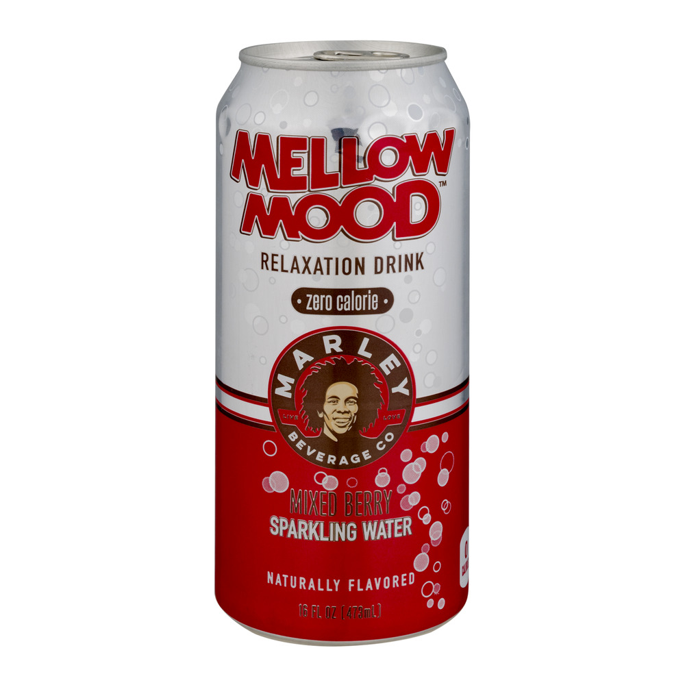 Marley Beverage Co Mellow Mood Sparkling Water Mixed Berry, 16.0 FL OZ