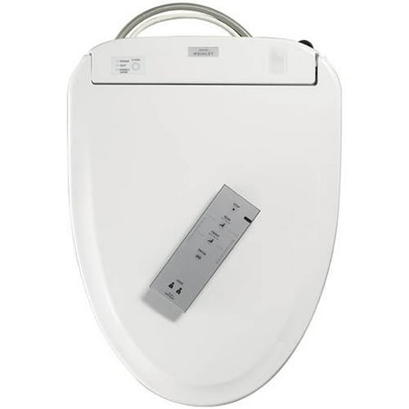 Sedona Beige Elongated Toilet Seat - Toto S3E Elongated Closed Front Toilet Seat with Lid and Washlet with eWater+, Available in Various Colors