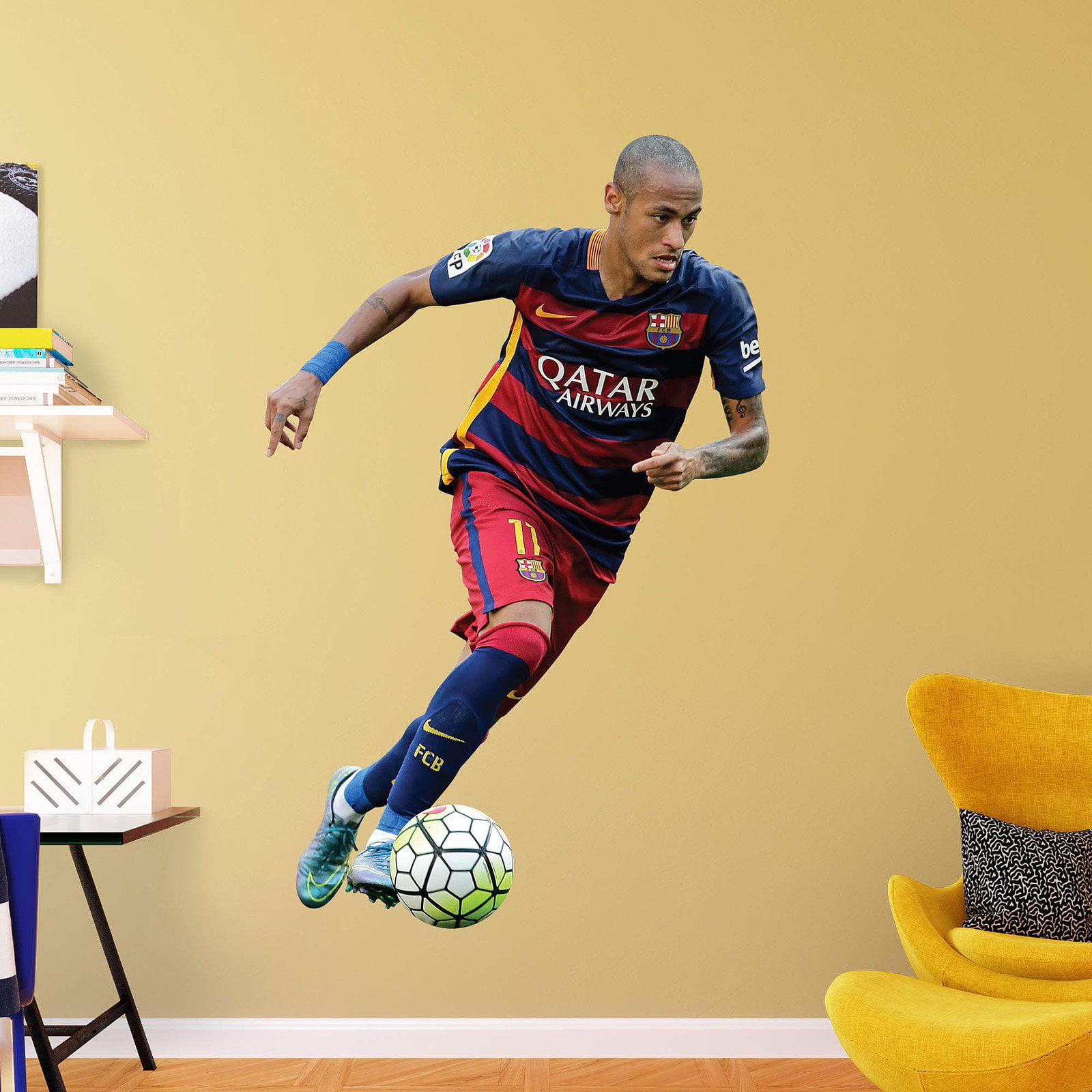 Fathead FC Barcelona Neymar Forward Wall Decal - Walmart.com
