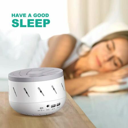White Noise Sound Machine Sleep Aid Machine For Insomnia
