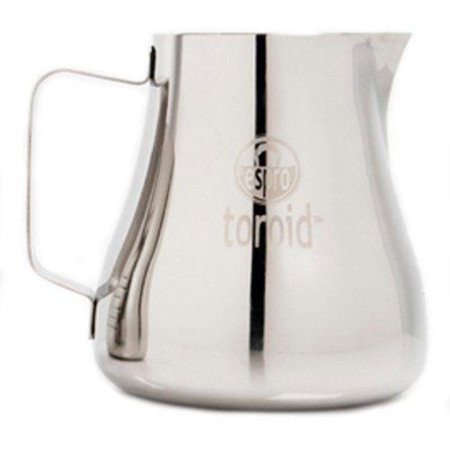 Espro Toroid Steaming Pitcher 12oz Stainless Steel Milk Frother Coffee Foaming