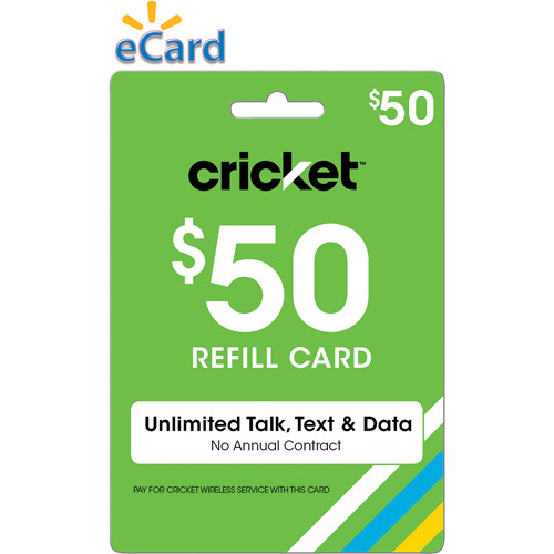Cricket Wireless Web $50 (Email Delivery)