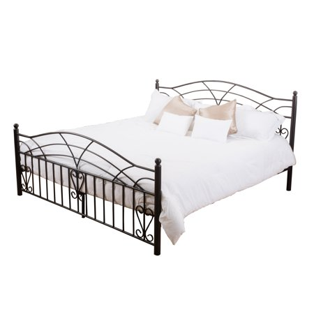 Bradburry King-Size Bed Frame, Copper