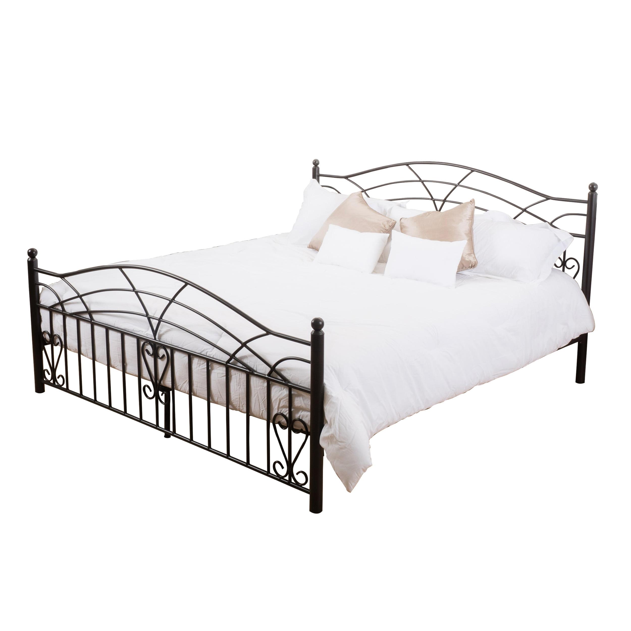 Bradburry King-Size Bed Frame, Copper