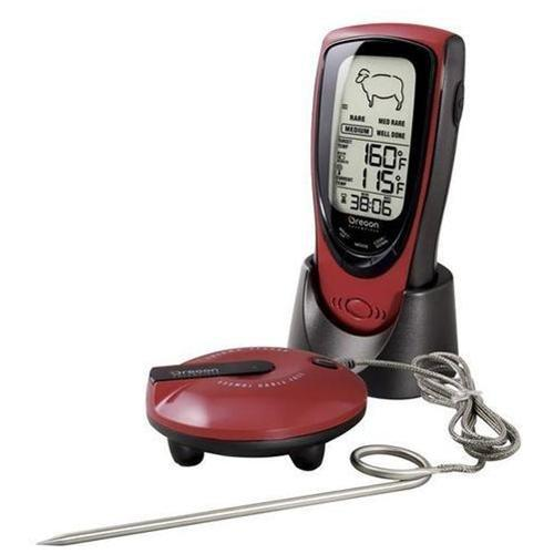 Oregon Scientific Aw131 Talking Bbq Thermometer (aw131blr)