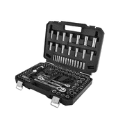 HART Multiple Drive 180-Piece Mechanics Tool Set, Chrome Finish