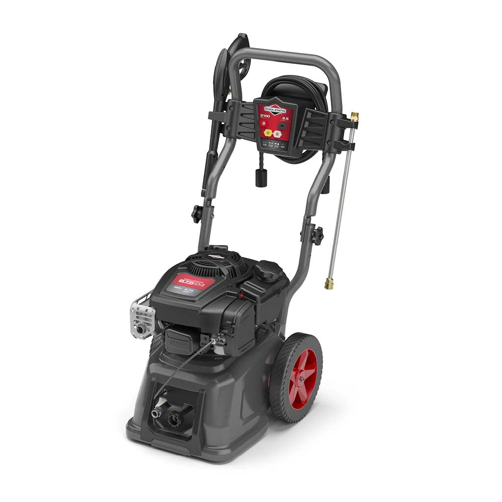 Briggs & Stratton PW-20686 3100 PSI 2.5 GPM Wheeled Gas Power Pressure Washer