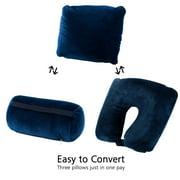 JML Multifunction 3 in 1 Micro bead travel pillow cushion neck support car flight