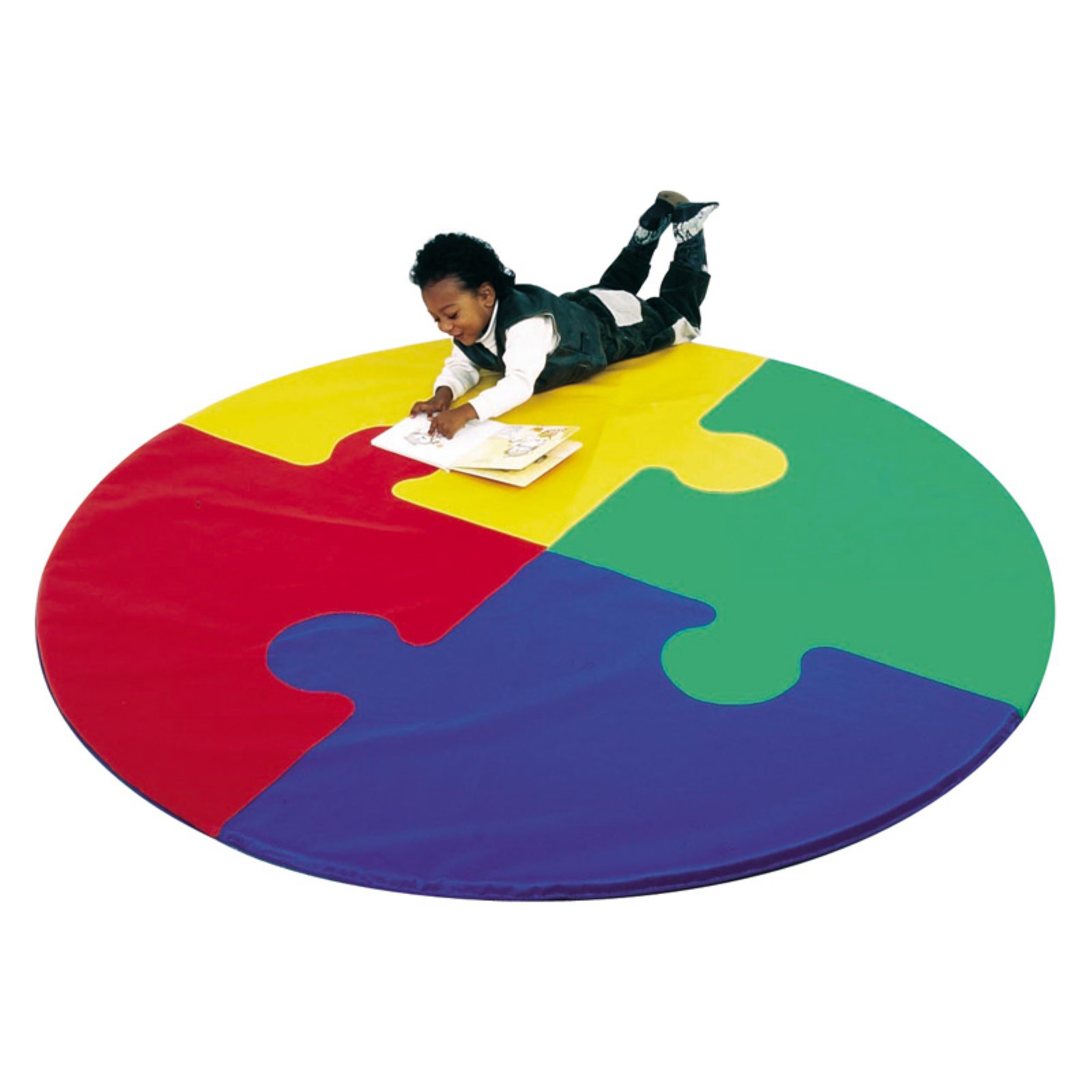 Children's Factory Round Puzzle Activity Mat by Children%27s Factory