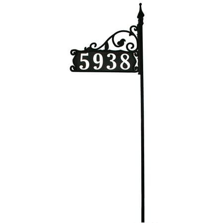 - Large Reflective Address Yard Sign- Jumbo 6