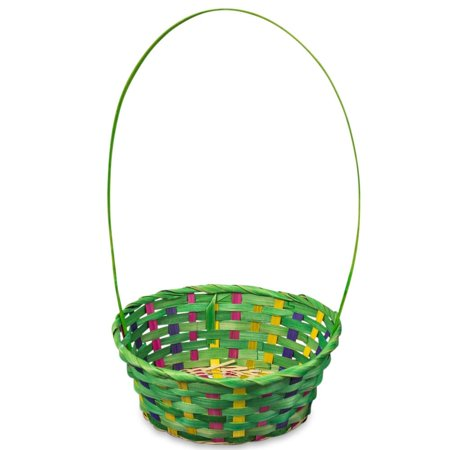 17 woven colorful oval green easter basket walmart 17 woven colorful oval green easter basket negle Choice Image