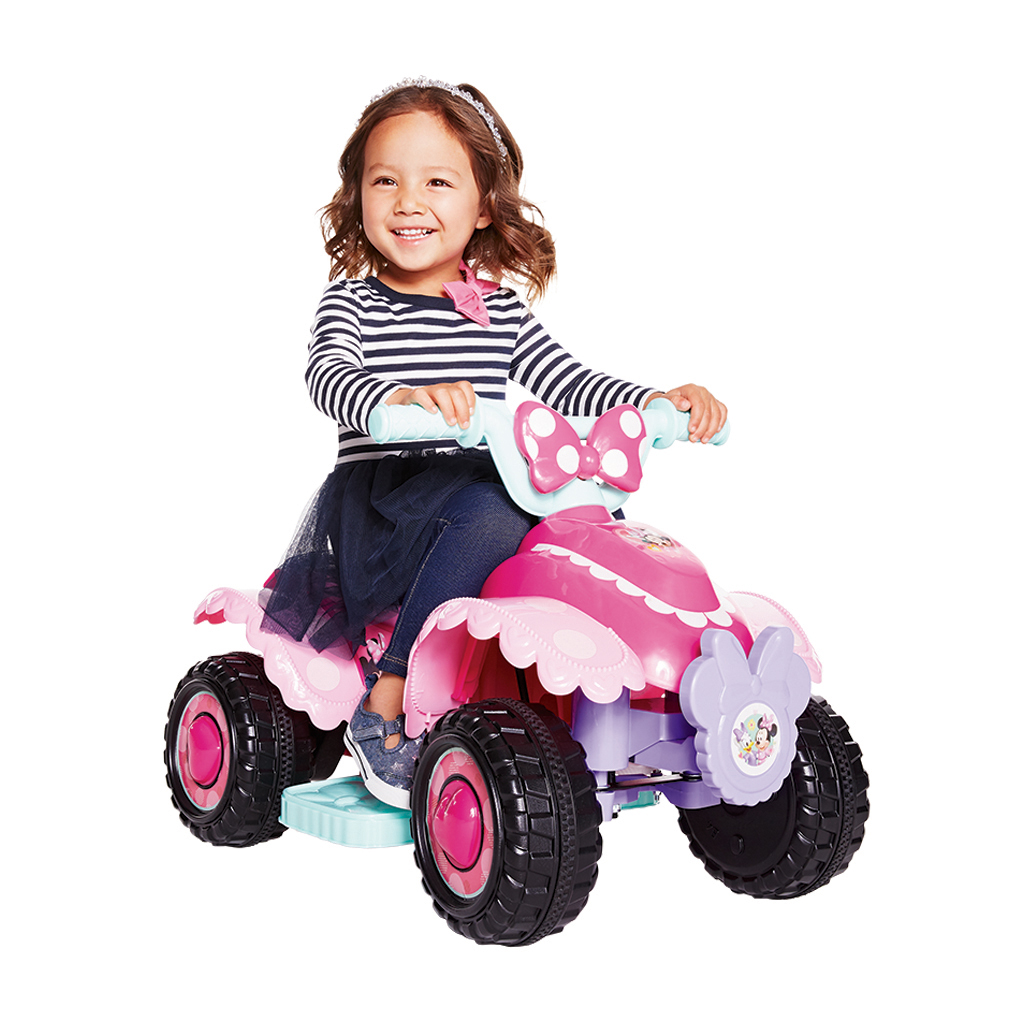 Kid Trax 6v Minnie Mouse Quad