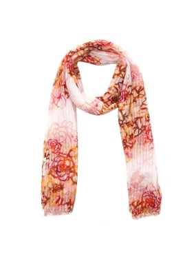 Richie House Women's Scarf With All Over Flower Prints RH0451