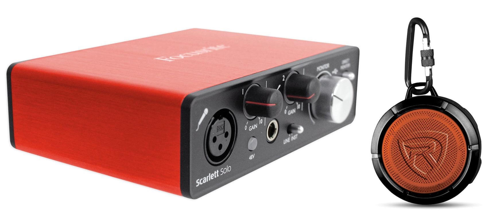 focusrite scarlett solo 2nd gen 192 khz usb 2 0 audio interface speaker. Black Bedroom Furniture Sets. Home Design Ideas