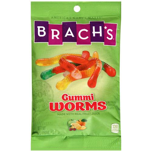 Brach������������������?������?s Wild ������������������?������?N Fruity Gummi Worms, 8.5 oz