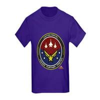 CafePress - Captain Marvel T Shirt - Kids Dark T-Shirt