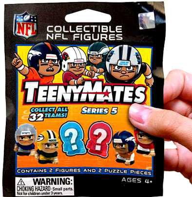 NFL TeenyMates Series 5 Linemen Mystery Pack