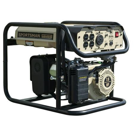 Sportsman Sandstorm 4000 Watt Dual Fuel - Home Depot Generator Rental