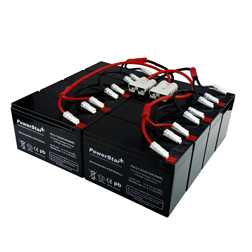 RBC12 UPS Complete Replacement Battery Kit for SU2200RM3U