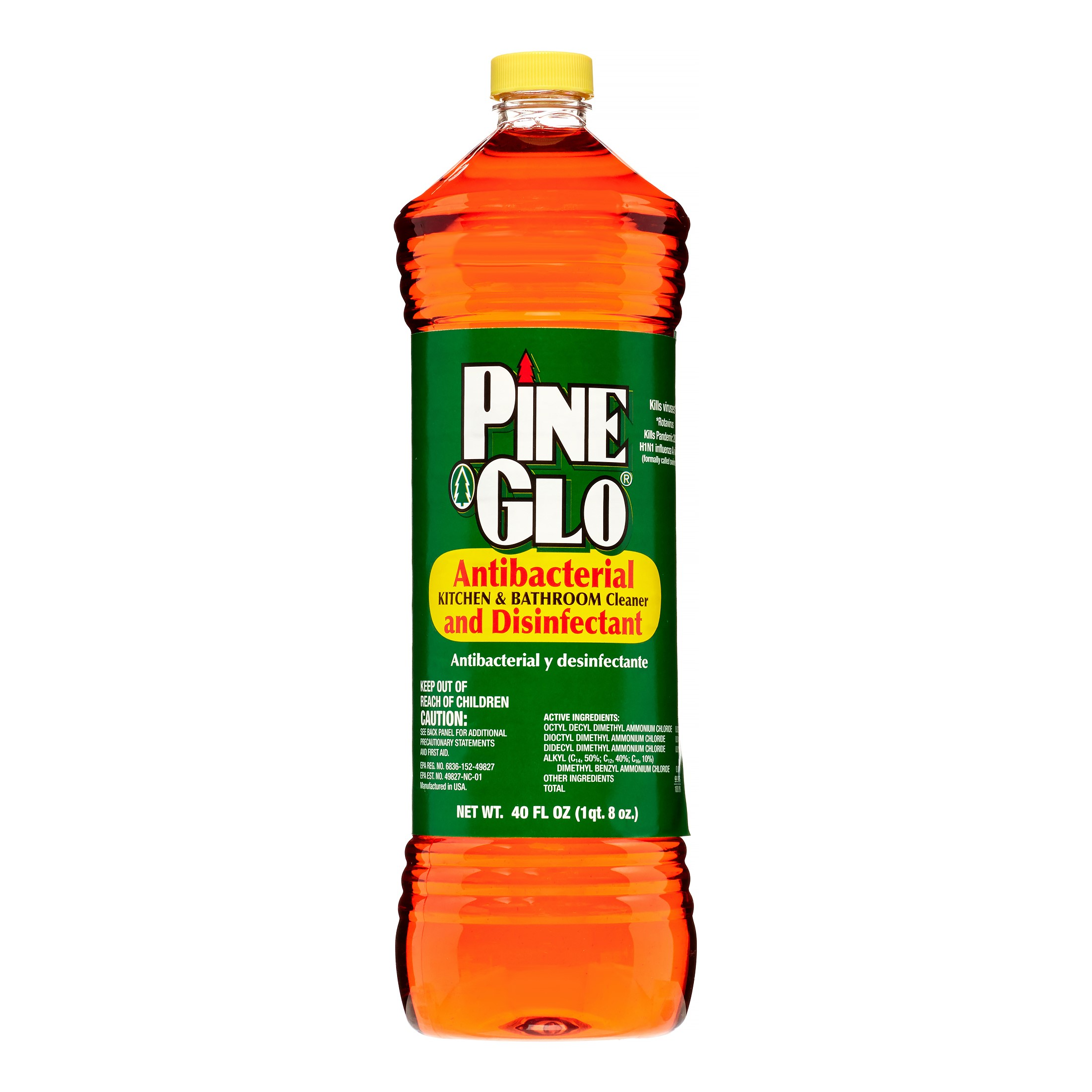 Pine Glo Kitchen And Bathroom Cleaner Msds