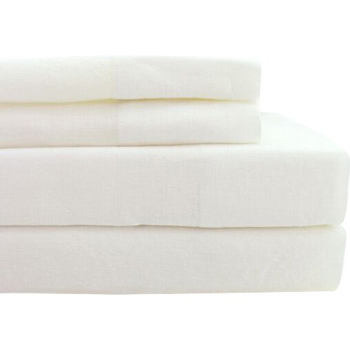 Melange Home Belgian Linen Sheet Set