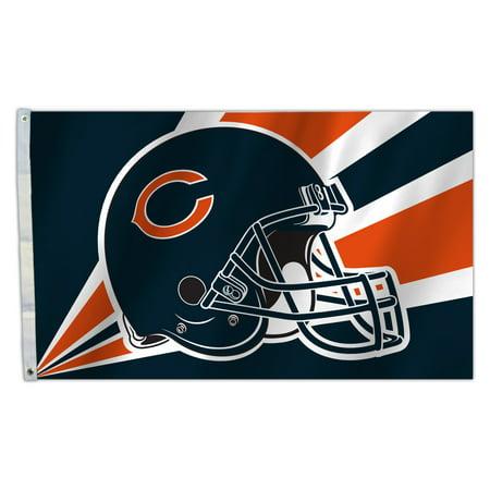 Chi Bears - CHI BEARS Helmet 3X5 Flag