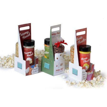 Wabash Valley Farms 77310 Dynamic Duo Popcorn Gift Set - Ranch-Tender & White - Halloween Duo Ideas For Friends