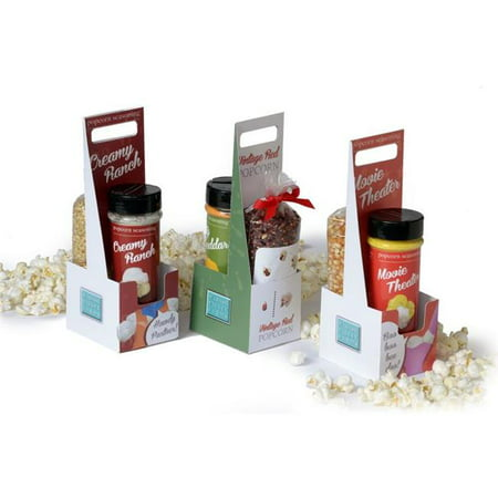 Wabash Valley Farms 77310 Dynamic Duo Popcorn Gift Set - Ranch-Tender & White (State Farm Costume)