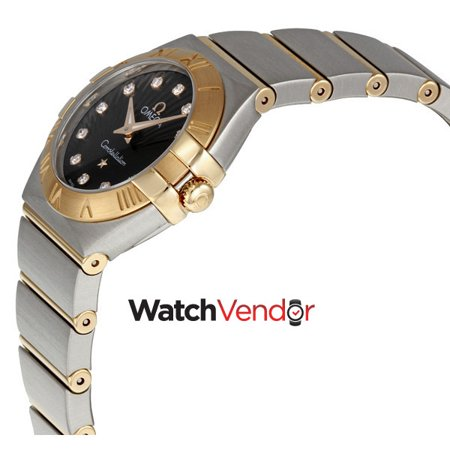Omega Constellation Brown Diamond Dial Ladies Watch 123.20.24.60.63.001 - image 1 of 3