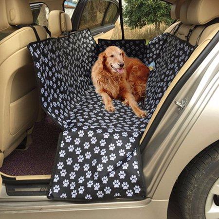 waterproof pet car seat cover dog mat cushion rear back seat