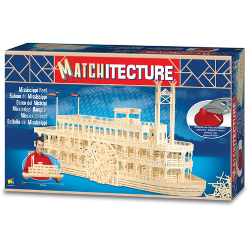 Matchitecture Mississippi Boat Building Kit