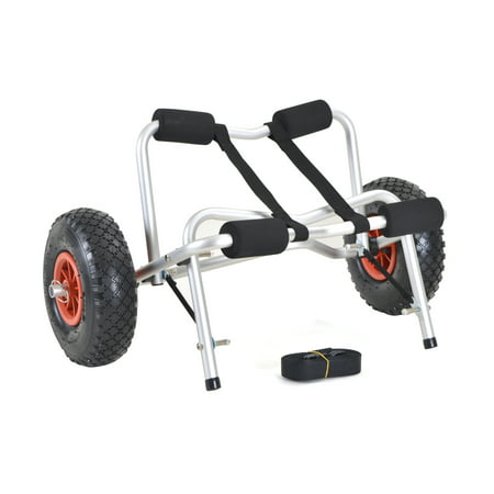 Boat Wheel - CALHOME Duable Boat Kayak Canoe Carrier Transport Trailer Tote Trolley Dolly Wheel
