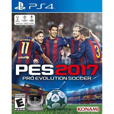 Pro Evolution Soccer 2017 - Pre-Owned (PS4)
