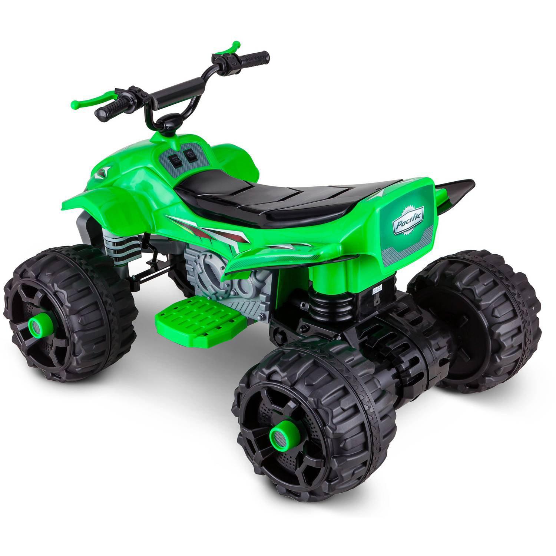 Sport Atv 12v Battery Powered Ride On Green Toy Wheel Car