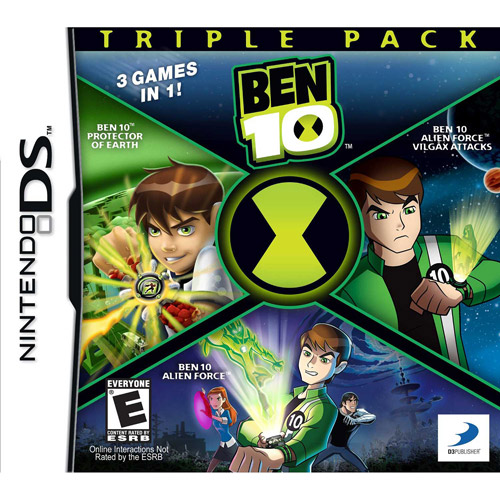 Nintendo DS - Ben 10 Triple Pack