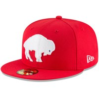 Buffalo Bills New Era Omaha Throwback 59FIFTY Fitted Hat - Red