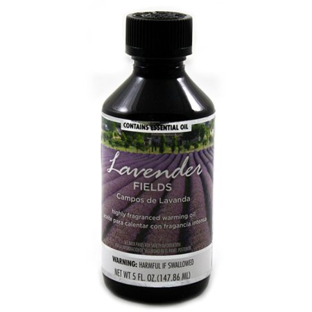 Fragranced Warming Oil 150Ml Lavender Fields Fragrance