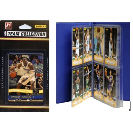 NBA Orlando Magic Licensed 2010-11 Donruss Team Set Plus Storage - Halloween Stores Orlando