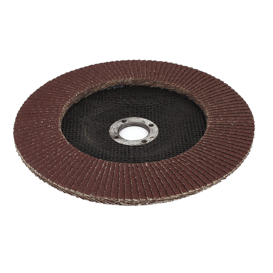 "180mm 7"" Dia 22mm Inner Hole 80 Grit Flap Sanding Disc Wheel for Angle Grinder - image 2 of 2"