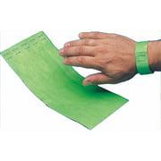 Wristbands, Lime, 100pk