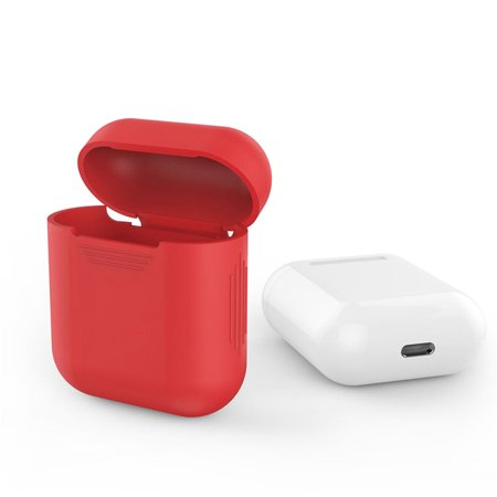 free shipping 391f1 c64d6 AirPods Silicone Case Cover Protective Skin for Apple Air Pods ...