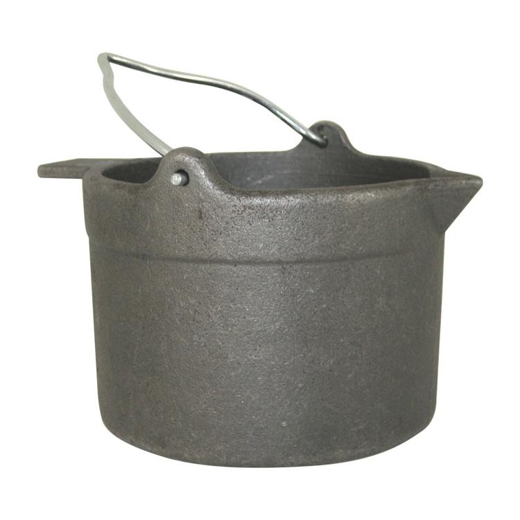 Lyman Reloading 10 lb Cast Iron Lead Melting Pot by Lyman