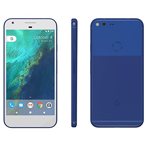 Refurbished Google Pixel 32GB Really Blue (Unlocked Verizon AT&T T-Mobile) Pure Android Smartphone