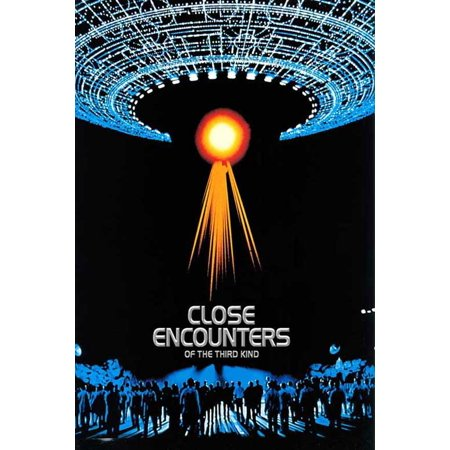 Close Encounters of the Third Kind POSTER Movie N Mini Promo (Halloween Hexe Kind)