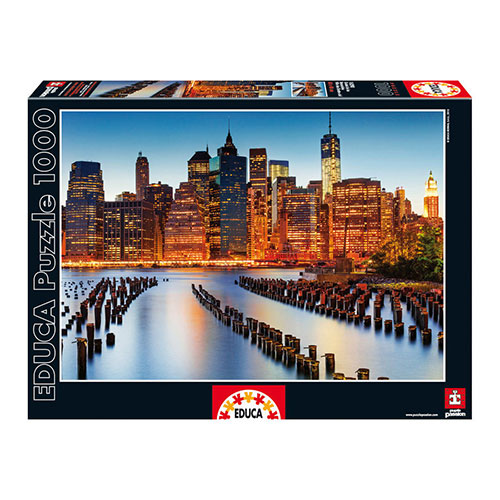 Educa 1000pc City of Skyscrapers Puzzle