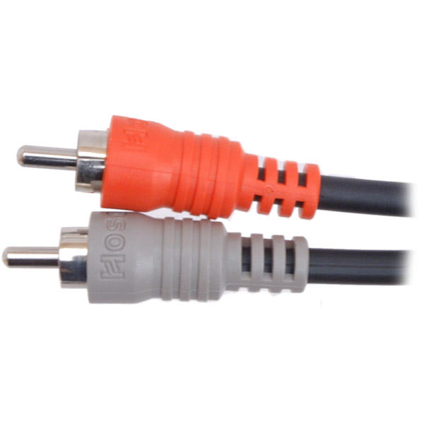 Hosa Cpr204 Dual 1/4-inch To Dual Rca Plugs - 13.2 Feet (cpr-204)
