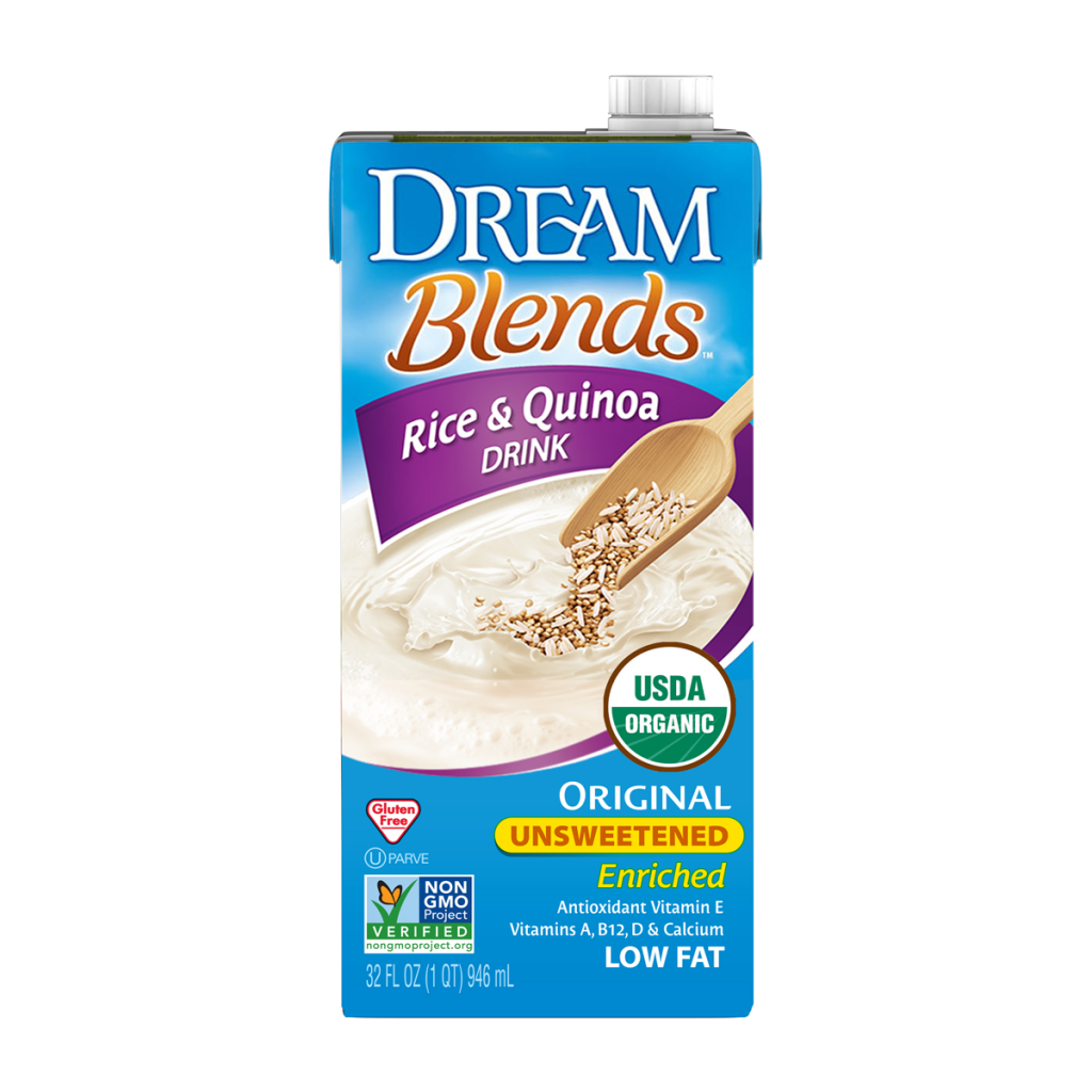 Dream Blends Enriched Original Unsweetened Rice and Quinoa Organic Non-Dairy Drink, 32 fl. oz.