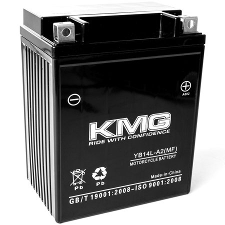 KMG 12 Volts 14Ah Replacement Battery for Arctic Cat EXT Special 1991-1992 - image 3 of 3