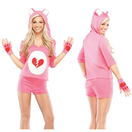 Womens Heartbreaker Teddy Sexy Halloween Costume